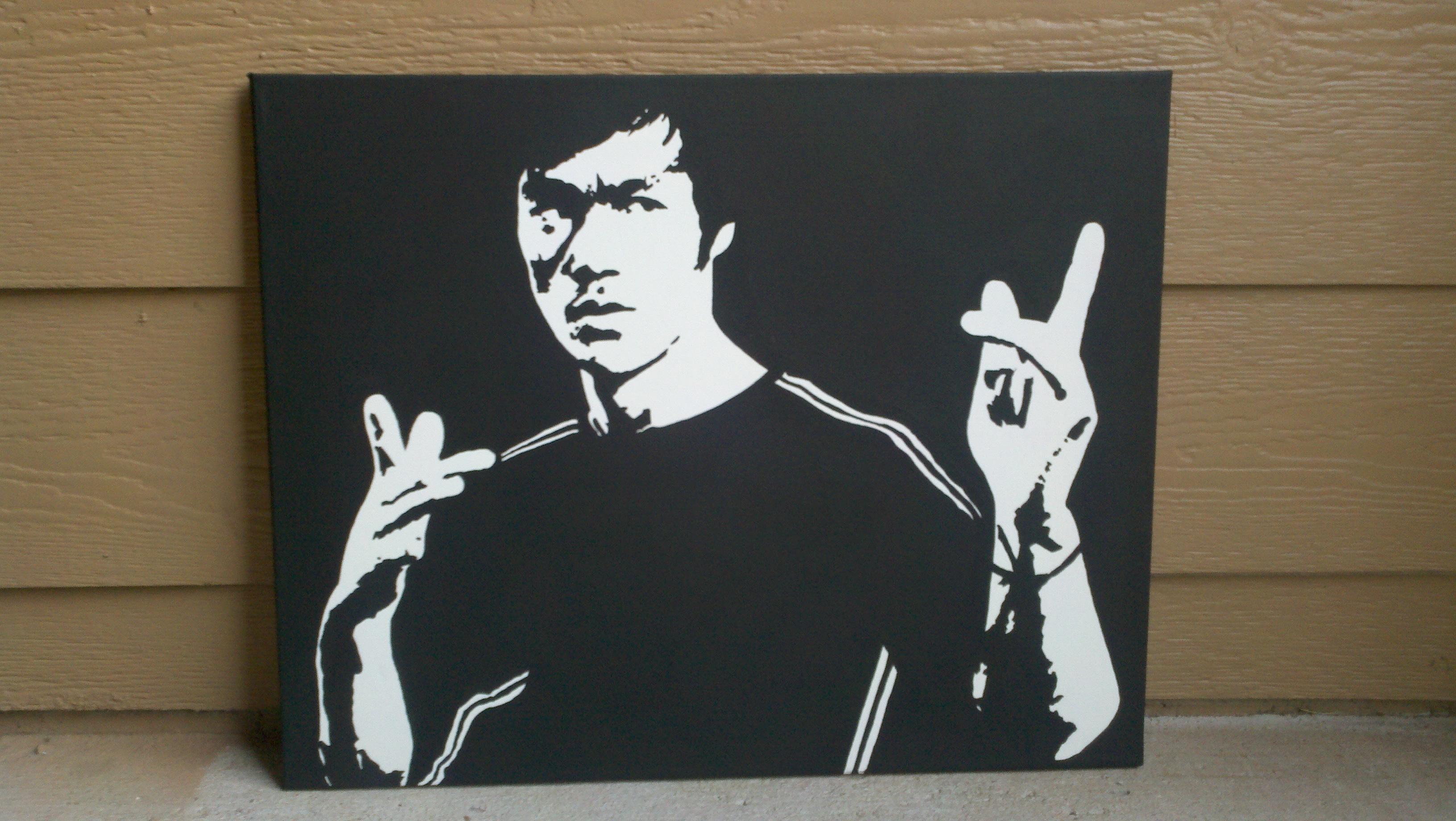 Bwuce Wee or Bruce Lee :) by julydart