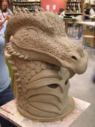 dragon mask again by zoharskarth