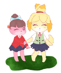 Isabelle and Lottie~