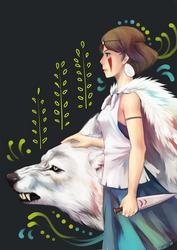 Princess Mononoke by Sangcoon