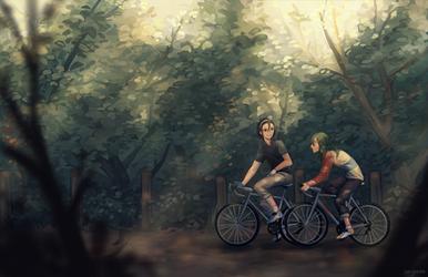 ywpd: casual bike rides