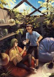 ywpd: peaceful afternoons