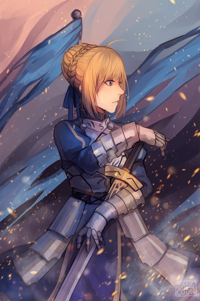 Saber by Sangcoon