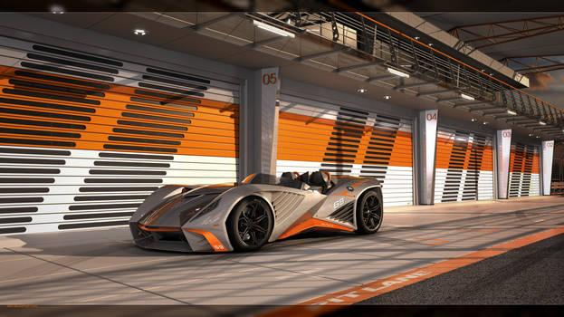 Arrow Roadster Concept - Pit Lane Shot