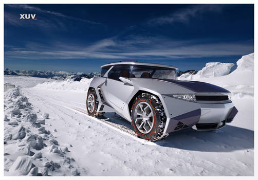 XUV-snowtrack-front