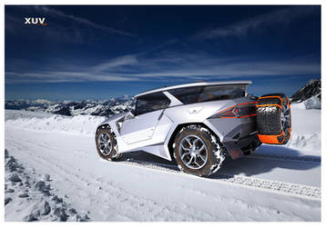 XUV-snowtrack-back