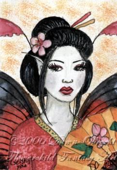 Geisha Fae by jenely