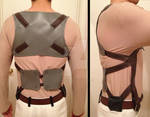 Attack on Titan Eren Belt Harness Progress 2