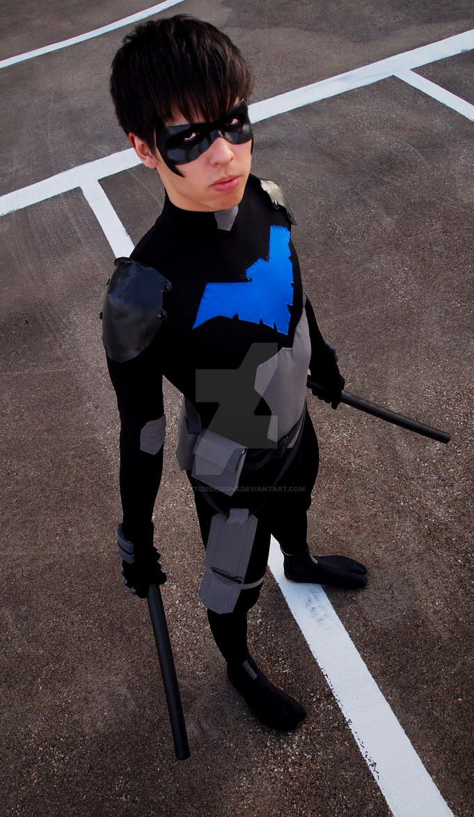 Young Justice Nightwing - Dick Grayson by FluxTideDesigns ... & Young Justice Nightwing - Dick Grayson by FluxTideDesigns on DeviantArt