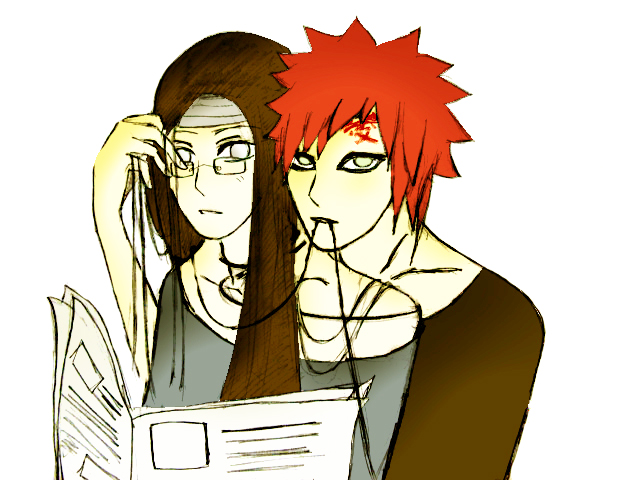 Gaara x Neji: Breakfast by Bloodchan on DeviantArt Gaara And Neji