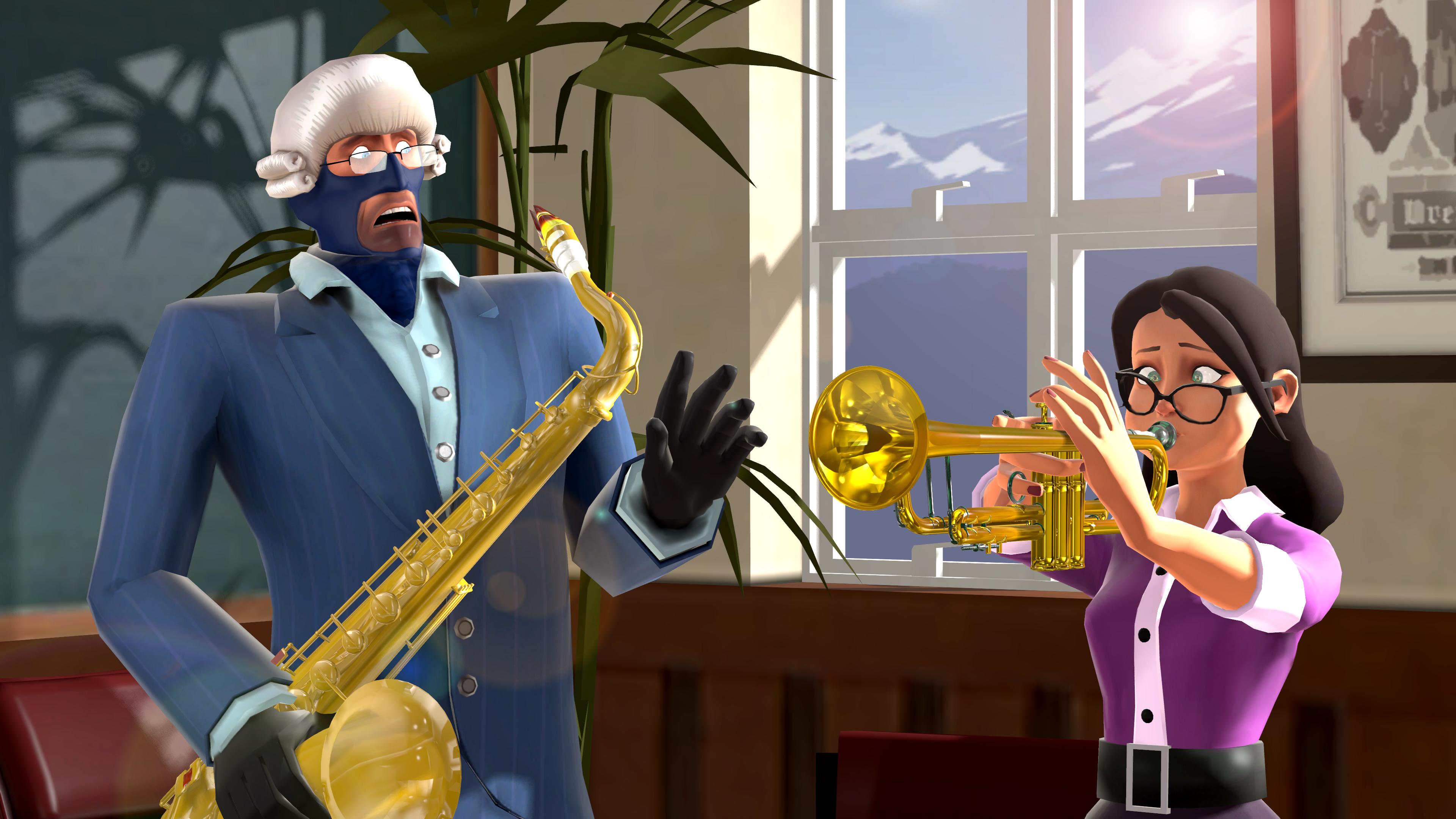 [SFM] Music Teacher by Mercer-Frey