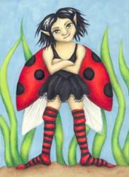 Ladybird Faerie by Flyttamouse