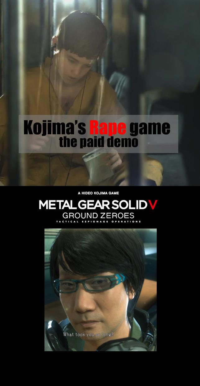 Kojima's R Game by 1r0zz0