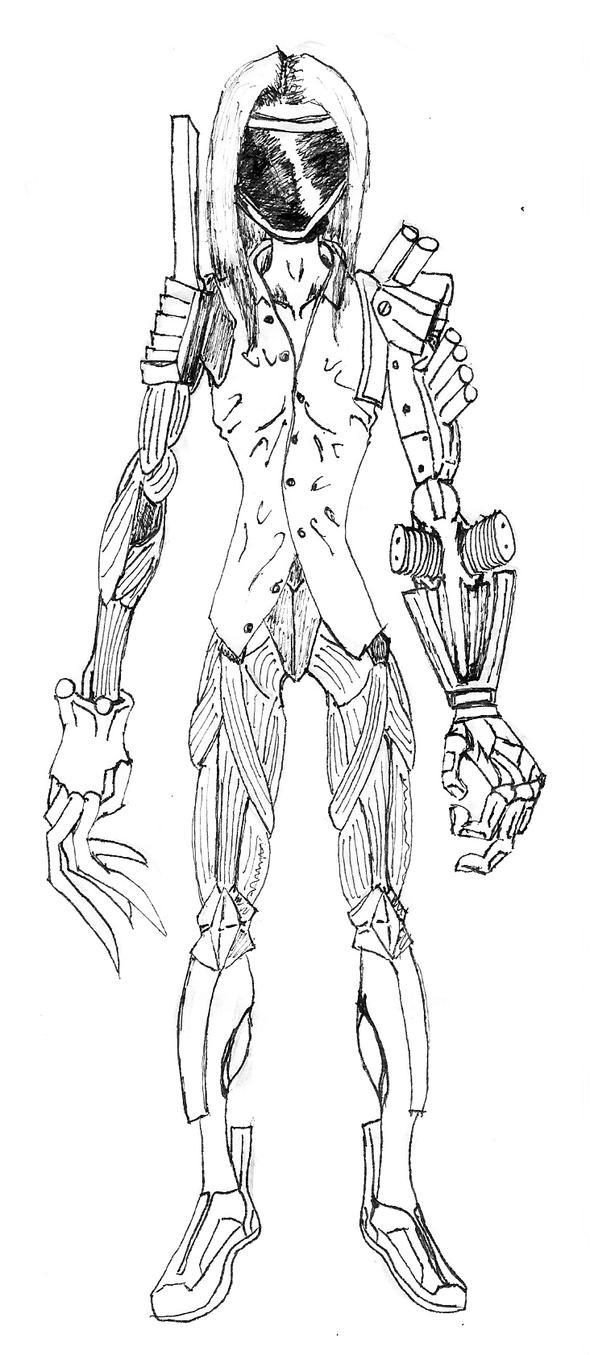 CyborgKnight by 1r0zz0