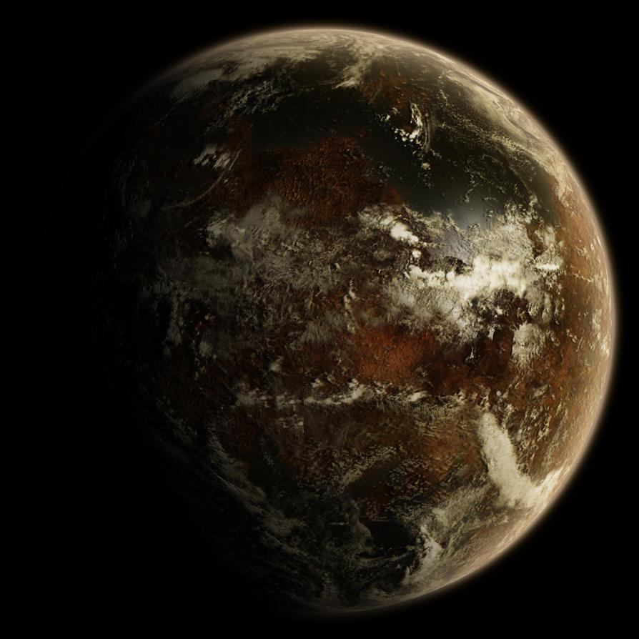 an alien planet - free source by hoevelkamp