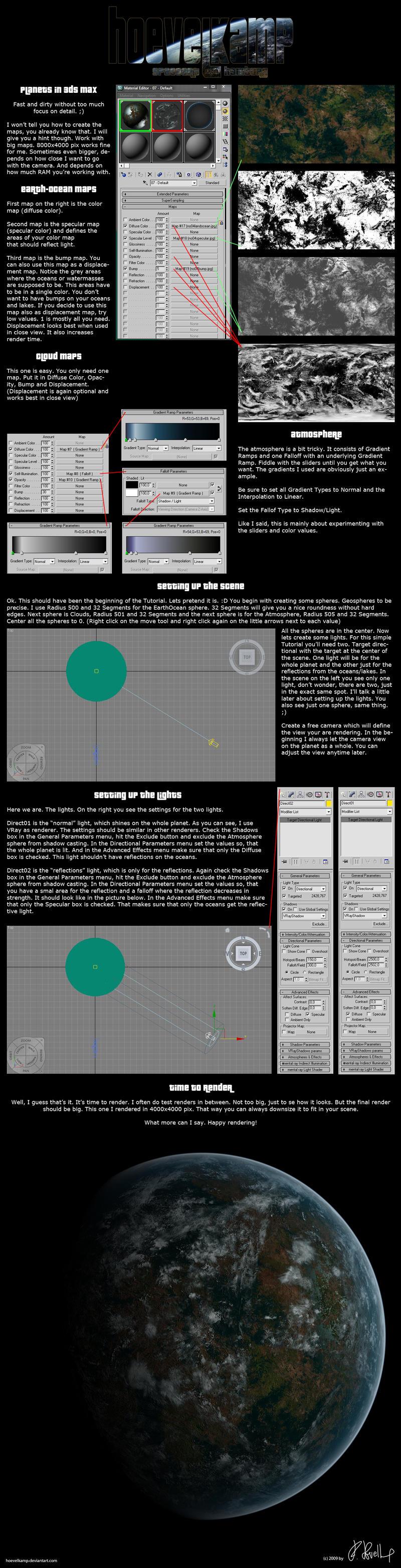 3ds max planet tutorial by hoevelkamp on deviantart for Tutorial 3d max