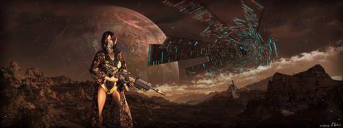 MartianWarrior by hoevelkamp