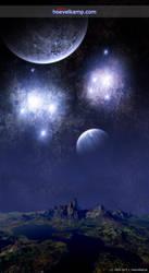 The Blue Night by hoevelkamp