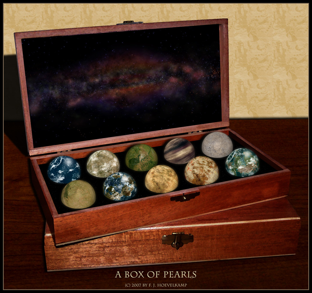 a box of pearls by hoevelkamp