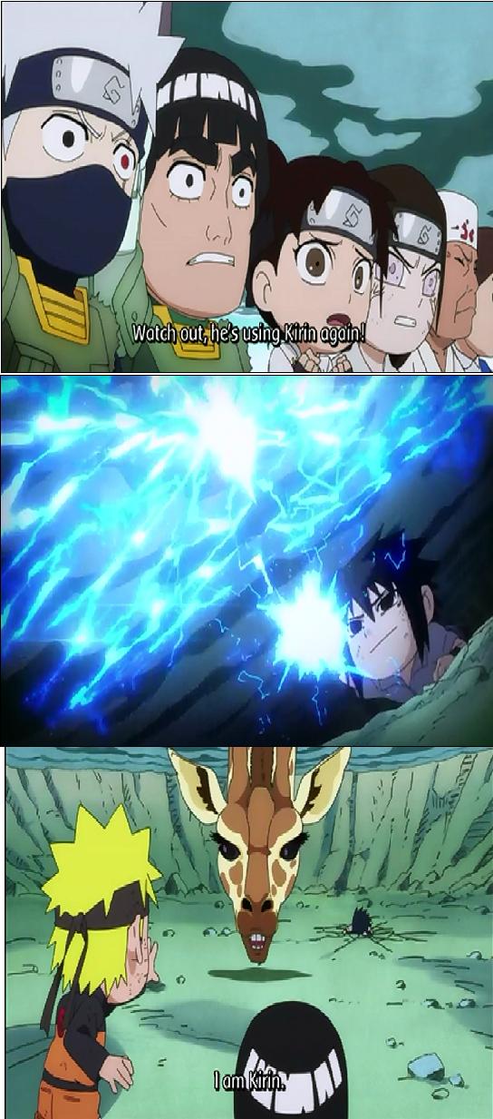 Sasuke Kirin Sasuke uses kirin by
