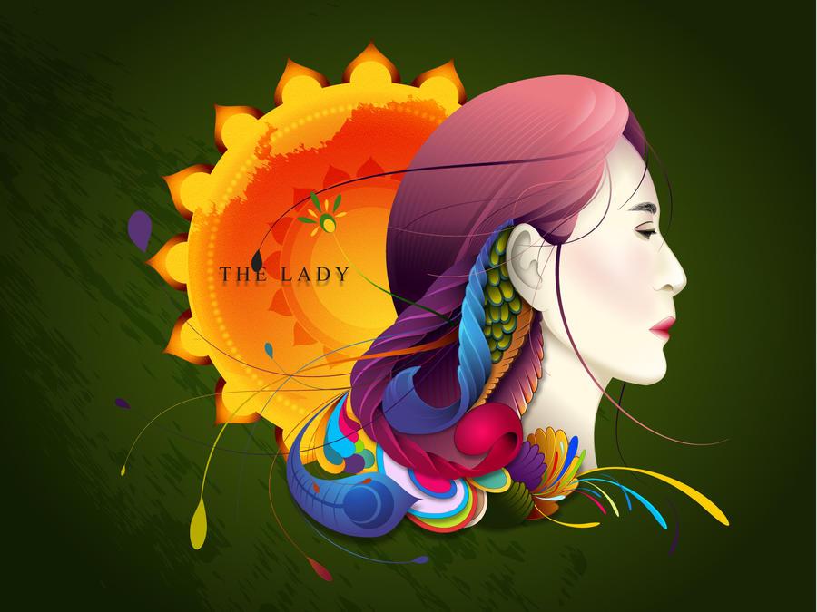 Daw Aung San Su Kyi by sweet-sour-mango