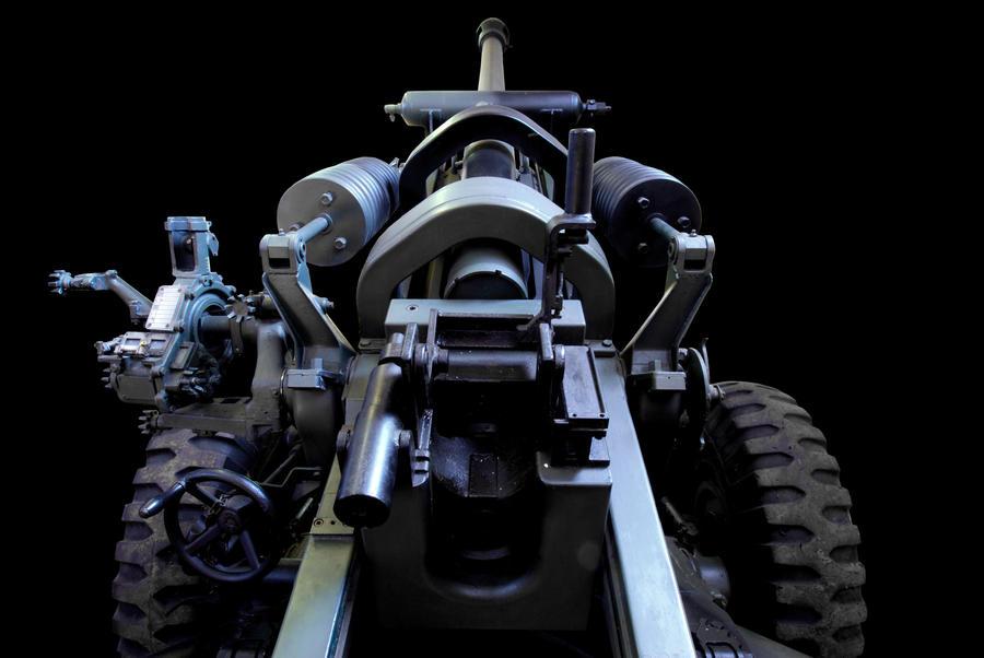 Anti-Tank Gun by CitizenJustin