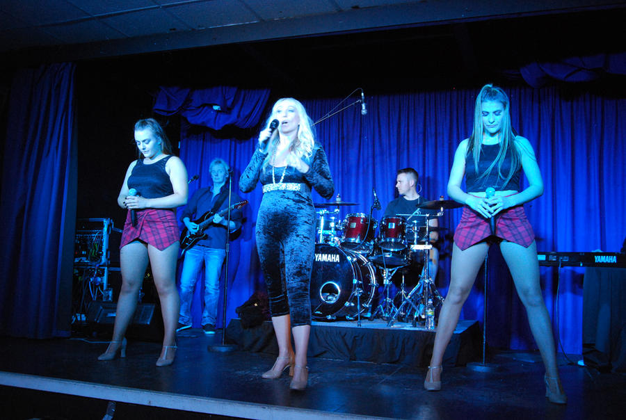Lorraine Crosby and band by CitizenJustin
