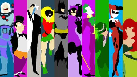 Batman Collection Vector