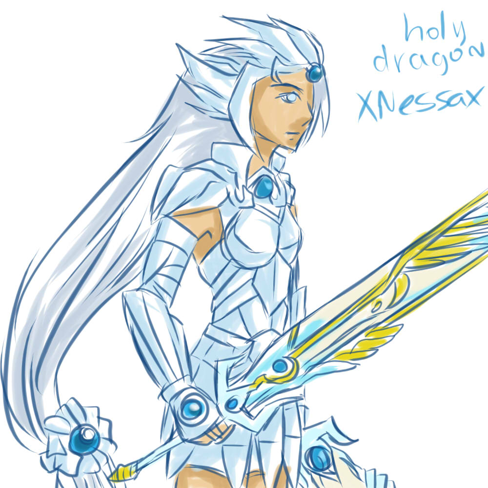 Holy Ice Dragon Armor By Xnessax On Deviantart This perk applies to both unenchanted and enchanted items (generic or custom), as long as the arcane blacksmith perk has. deviantart
