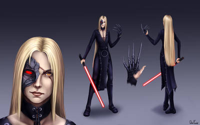 Lady Sith Kay Concept-art (COMMISSION)