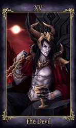 Wrylen Tarot The Devil (COMMISSION)
