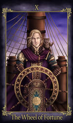 Zakrion Tarot The Wheel of Fortune (COMMISSION)