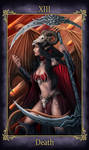 Andariel Tarot Death (COMMISSION)