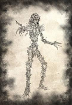Swamp Spirit (sketch)