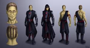 Dark Jedi Vrayth Concept-art (COMMISSION) by DonFuchs