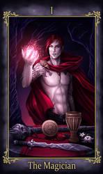 Nihailus Tarot The Magician (COMMISSION)