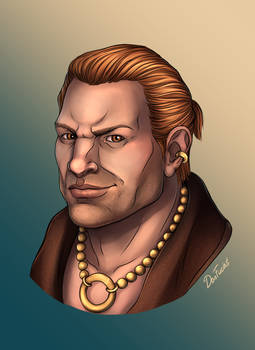 Varric Tethras Portrait