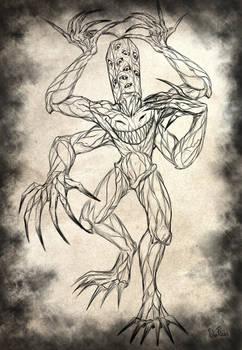Demon-Nightmare OC (sketch)