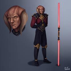 Dark Lord of the Sith Darth Callidus Conceptart OC