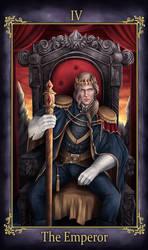Callum Nevran Tarot The Emperor (COMMISSION)