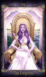 Delilah Johannes Tarot The Empress (COMMISSION)