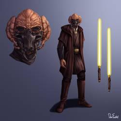 Jedi Sentinel Tol Mong Conceptart OC