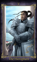 Nhiroh Takashino Tarot The Hierophant (COMMISSION)
