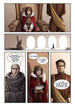 Reign of the Night: Page 2 (comic)