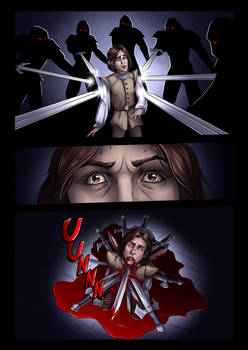 Reign of the Night: Page 3 (comic)