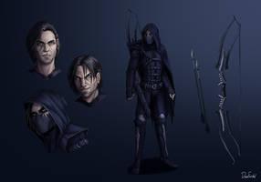 Illusive Archer OC (Concept-art)