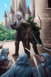 The Ranger and The Knight (Bookcover)
