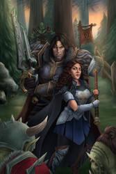 Val and Varian.Orc Ambush (COMMISSION)
