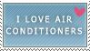 I love Air Conditioners by Fennikusu