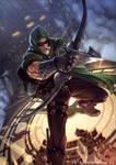 My Green Arrow by ArtRockPhantom